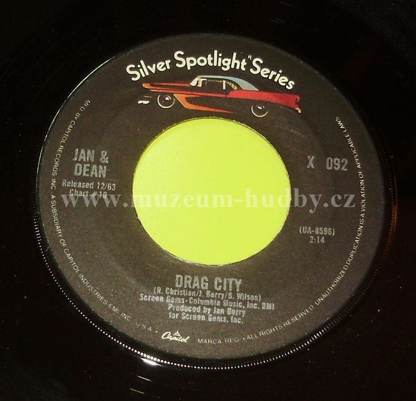"Jan & Dean: Drag City / Dead Man's Curve - Vinyl(45"" Single)"