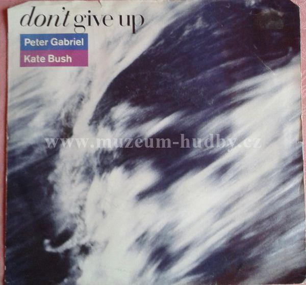 """Peter Gabriel / Kate Bush: Don't Give Up (Edit) / Curtains - Vinyl(45"""" Single)"""