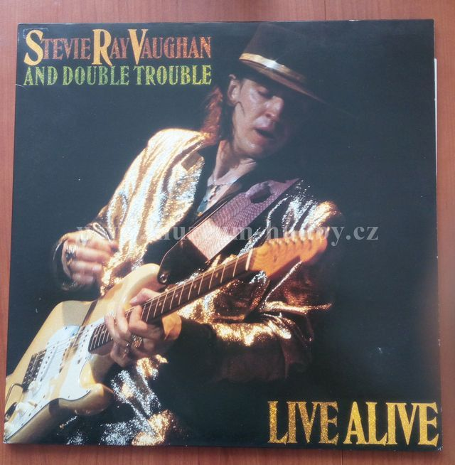 "Stevie Ray Vaughan And Double Trouble: Live Alive - Vinyl(33"" LP)"