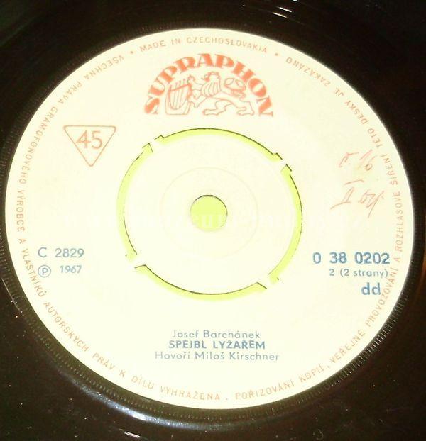 """Spejbl & Hurvínek: Spejbl Lyžařem - Vinyl(45"""" Single)"""