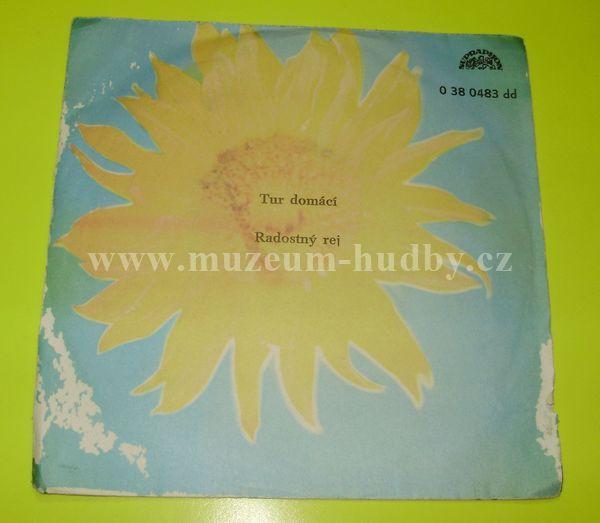 "Spejbl & Hurvínek: Tur Domácí / Radostný Rej - Vinyl(45"" Single)"
