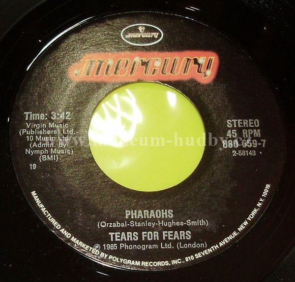 "Tears For Fears: Everybody Wants To Rule The World / Pharaohs - Vinyl(45"" Single)"