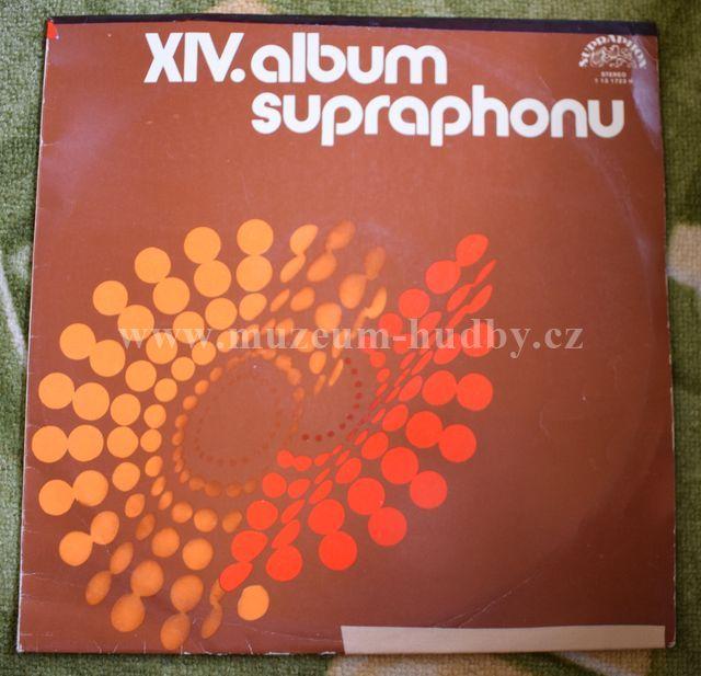 "Karel Gott - Olympic - Helena Vondráčková - Václav Neckář: XIV. Album Supraphonu - Vinyl(33"" LP)"