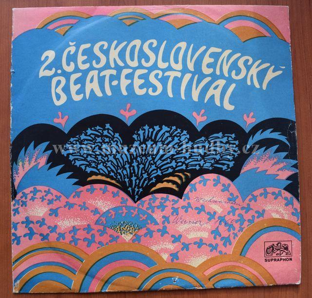 "Micky Volek - Petr Kaplan A Samuels Band - Michal Prokop A Framus Five - Peter Lipa A Blues Five: 2. Československý Beat-festival - Vinyl(33"" LP)"