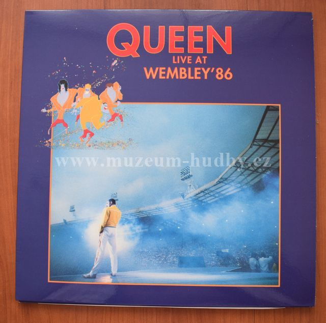 "Queen: Live At Wembley '86 - Vinyl(33"" LP)"