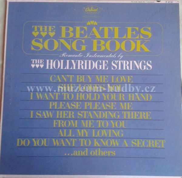 "The Hollyridge Strings : The Beatles Song Book - Vinyl(33"" LP)"