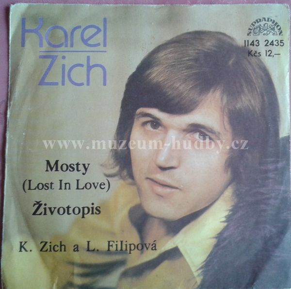 Karel Zich L Filipova Mosty Lost In Love Zivotopis Online