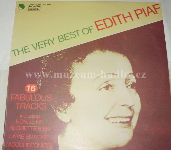 Edith Piaf The Very Best Of Online Vinyl Shop
