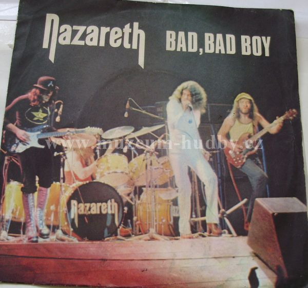 Nazareth Bad Bad Boy Hard Living Spinning Top Online
