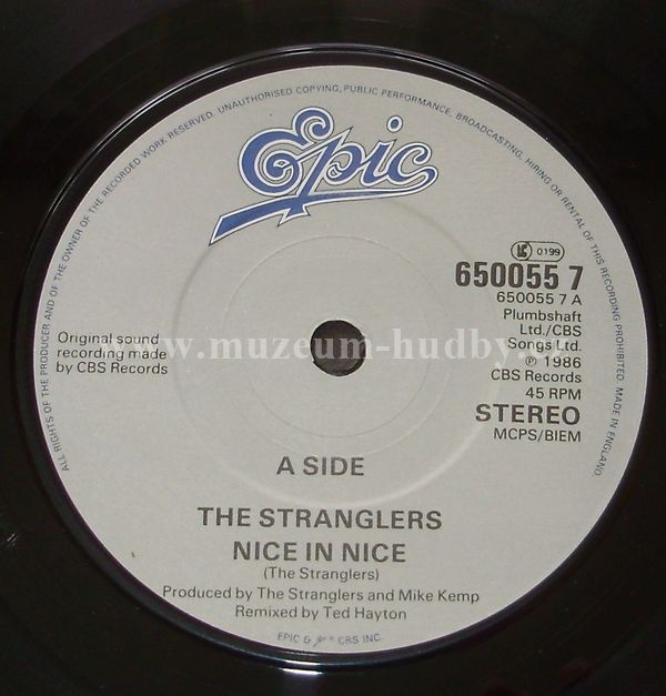 The Stranglers Nice In Nice Since You Went Away Online