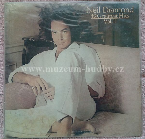 Neil Diamond 12 Greatest Hits Vol Ii Online Vinyl Shop