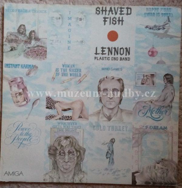 John lennon plastic ono band shaved fish online vinyl for John lennon shaved fish