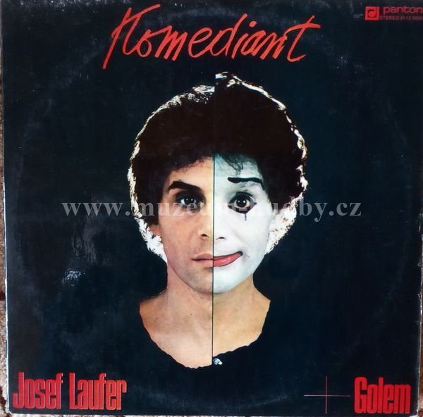 Josef Laufer: Josef Laufer + Golem-Komediant