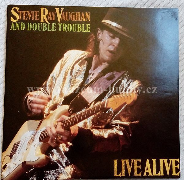 stevie ray vaughan and double trouble live alive online vinyl shop gramofonov desky. Black Bedroom Furniture Sets. Home Design Ideas