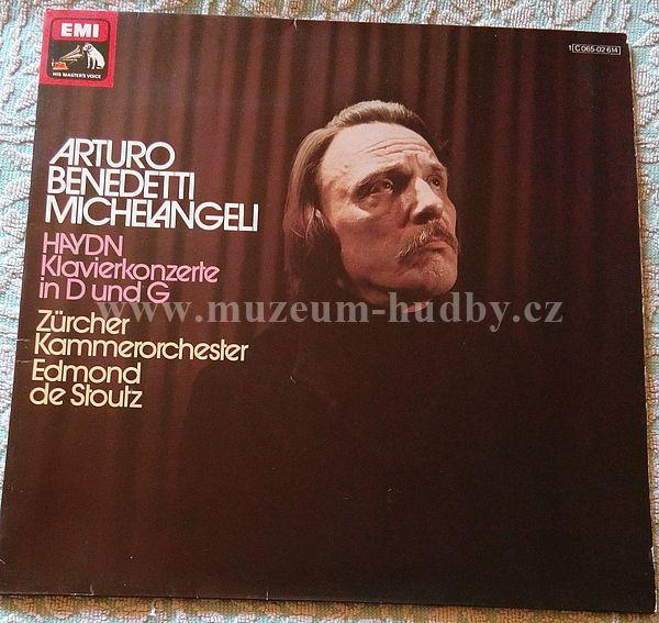 Haydn / Arturo Benedetti Michelangeli, Zürcher Kammerorchester, Edmond De Stoutz