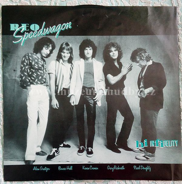 REO Speedwagon-Hi Infidelity - Product detail | online vinyl shop
