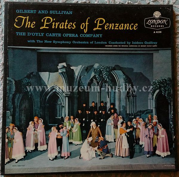 Carte Orchestra.Gilbert And Sullivan The D Oyly Carte Opera Company New Symphony
