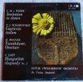 C. M. v. Weber* / P. I. Tchaikovskii / R. Wagner / F. Liszt - Slovak Philharmonic Orchestra, Dr. Václav Smetáček-Invitation To Dance / Capriccio Italien / Tannhäuser, Overture / Hungarian Rhapsody No. 2