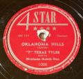 T Texas Tyler And His Oklahoma Melody Boys