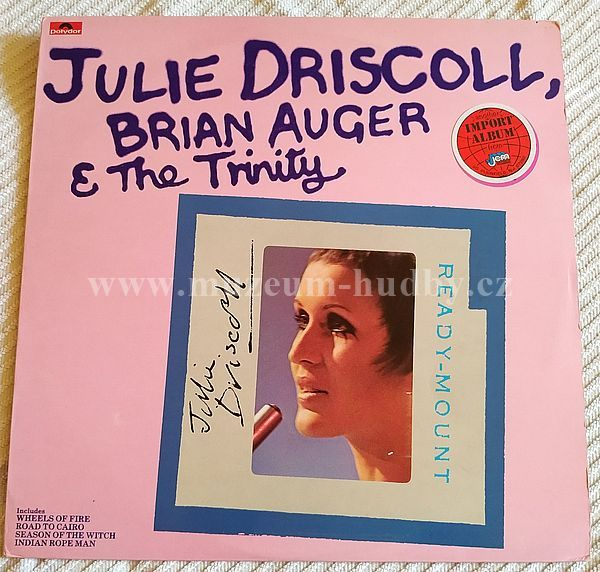 Julie Driscoll, Brian Auger & The Trinity