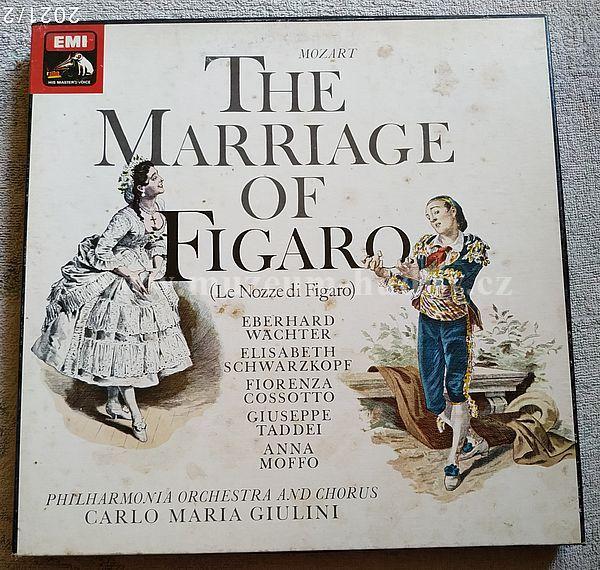 Mozart - Eberhard Wächter, Elisabeth Schwarzkopf, Fiorenza Cossotto, Giuseppe Taddei, Anna Moffo, Philharmonia Orchestra And Chorus, Carlo Maria Giulini